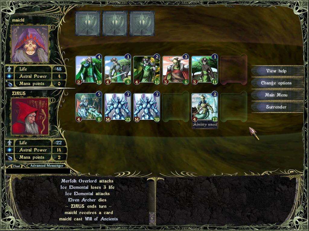 Карточная игра астрал