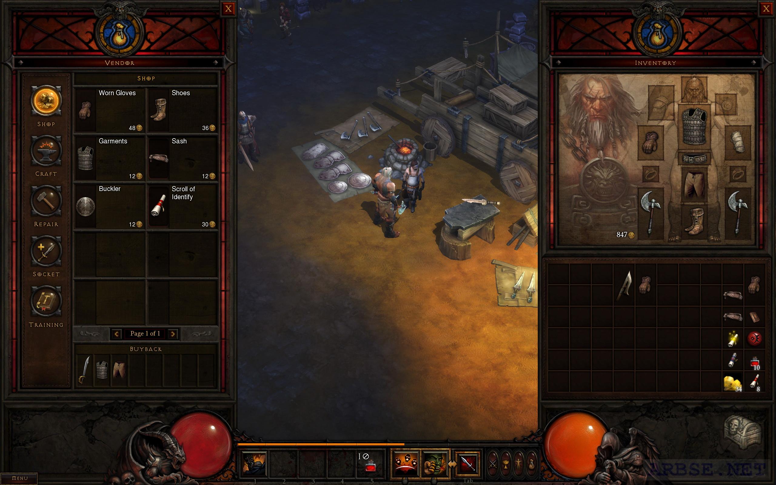 Diablo 3 crafting arbse for Diablo 3 crafting items