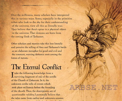 the ethernal conflict