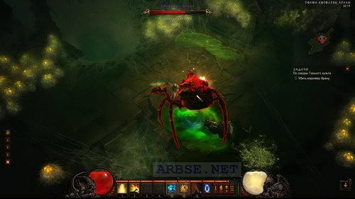 игры битва пауков