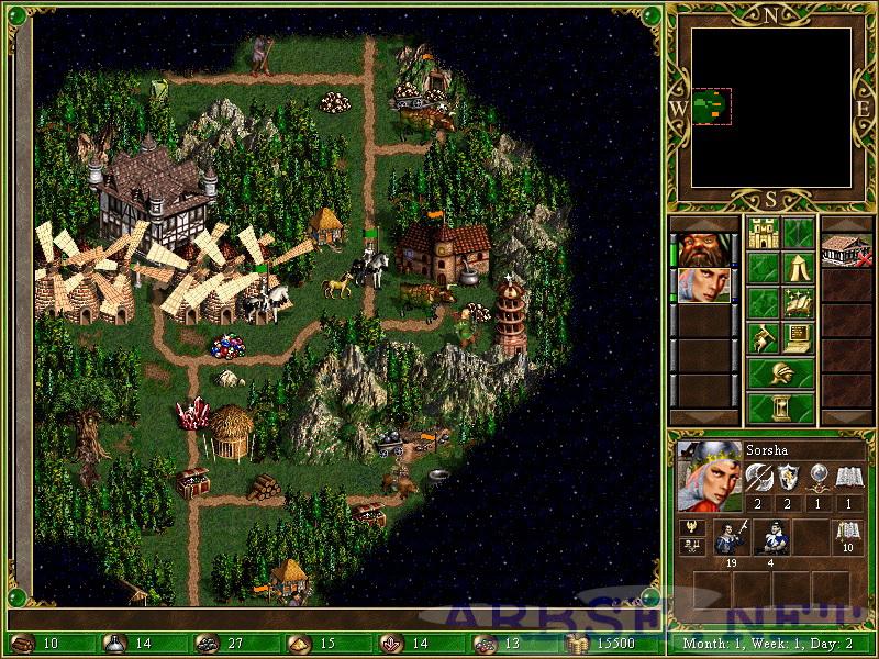 Heroes III Map Pack