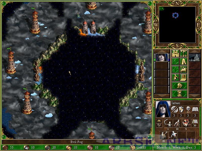 скачать карту для героев 3 Heroes - фото 4