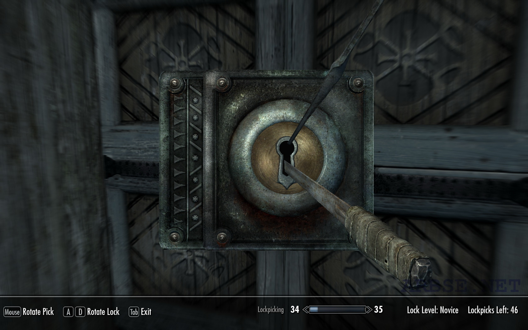 Чит коды на скайрим на открывание дверей