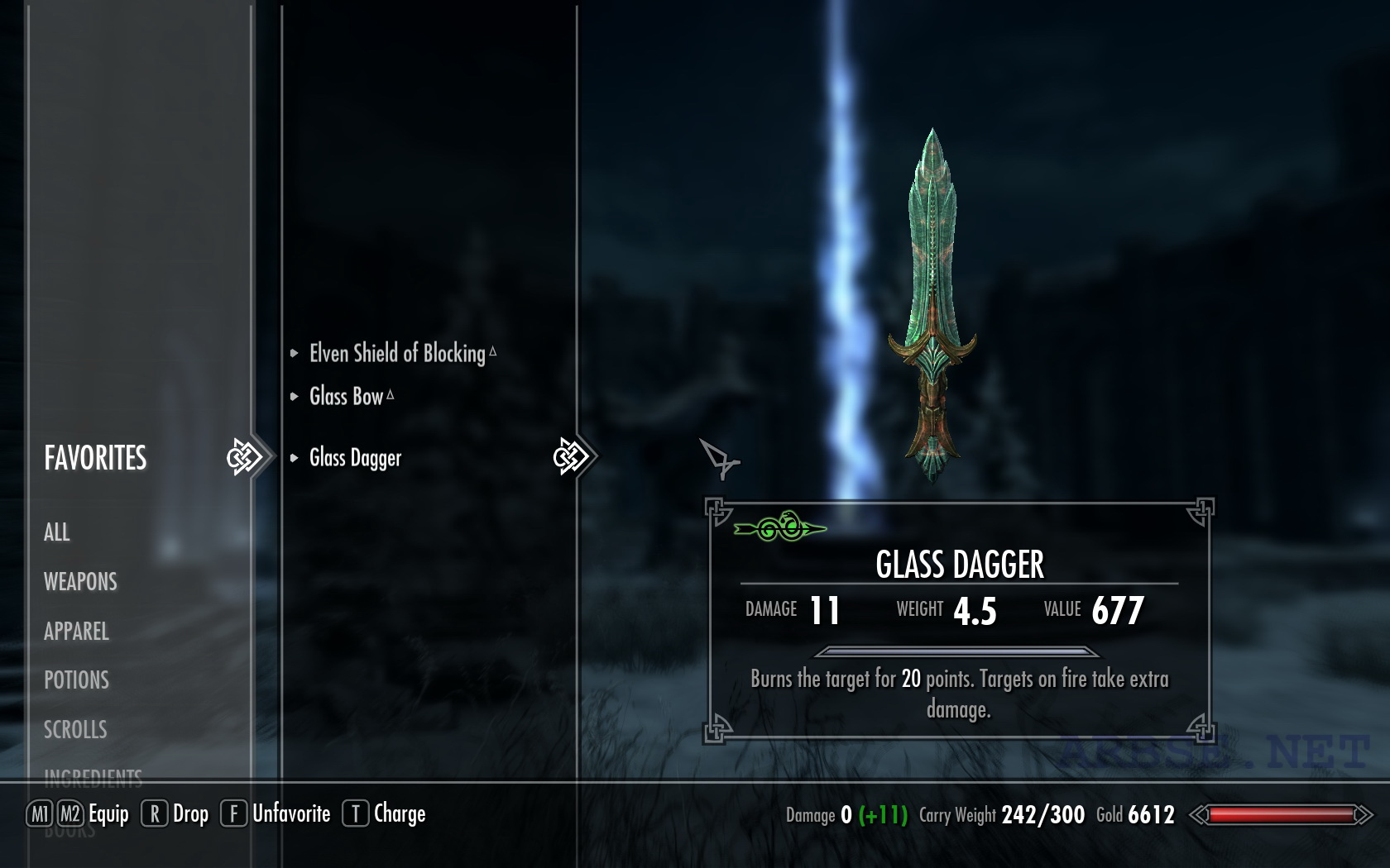 how to find item id skyrim