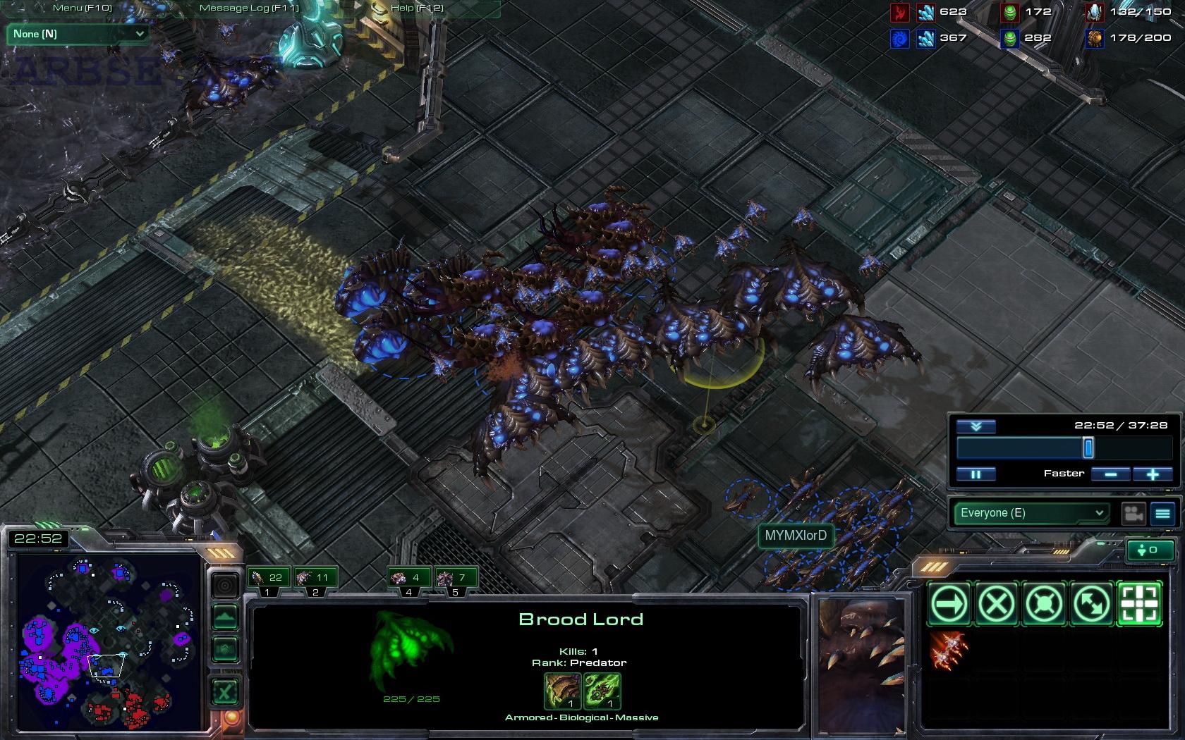 Starcraft 2 игра за зергов