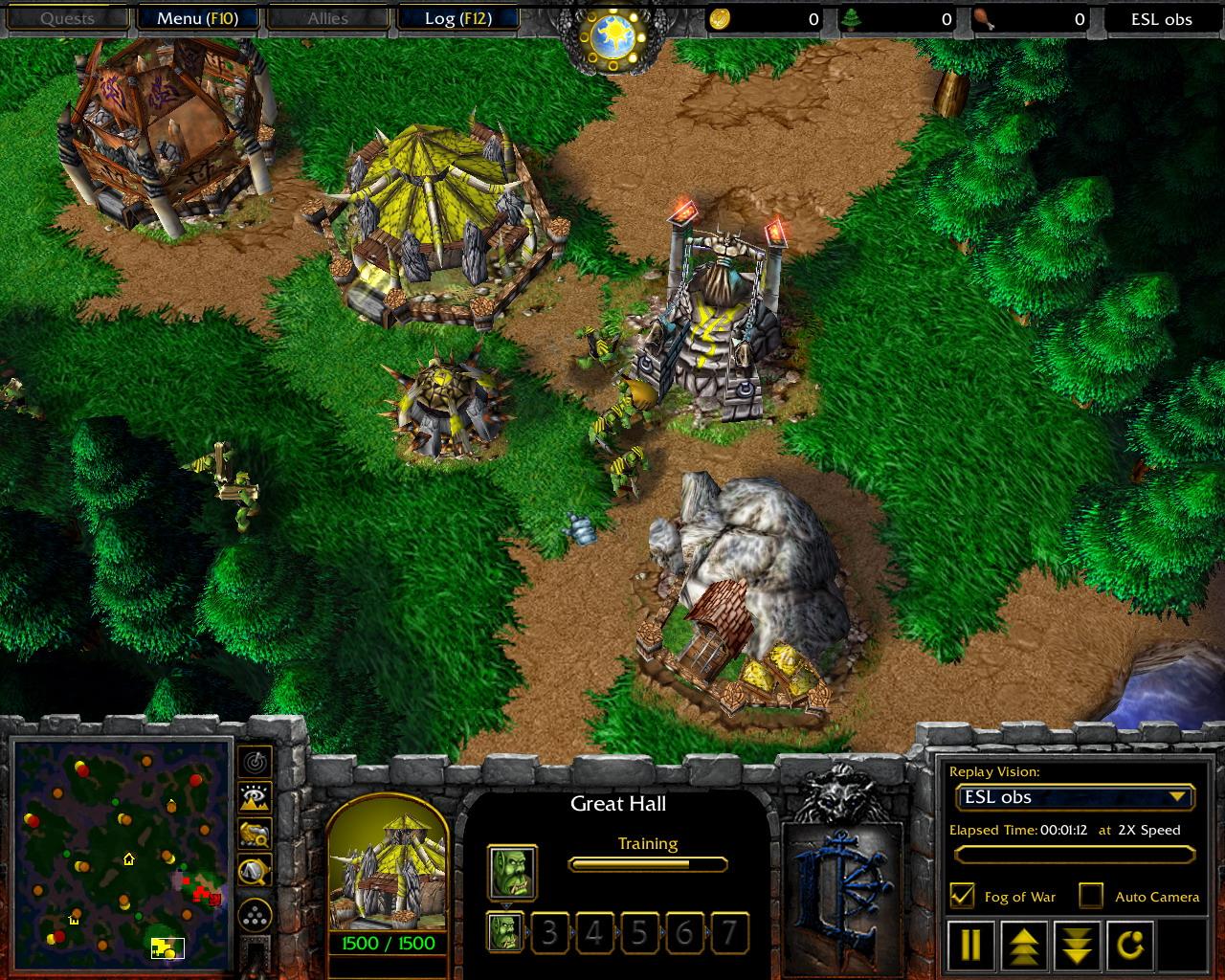 Warcraft 3 the frozen throne моды скачать