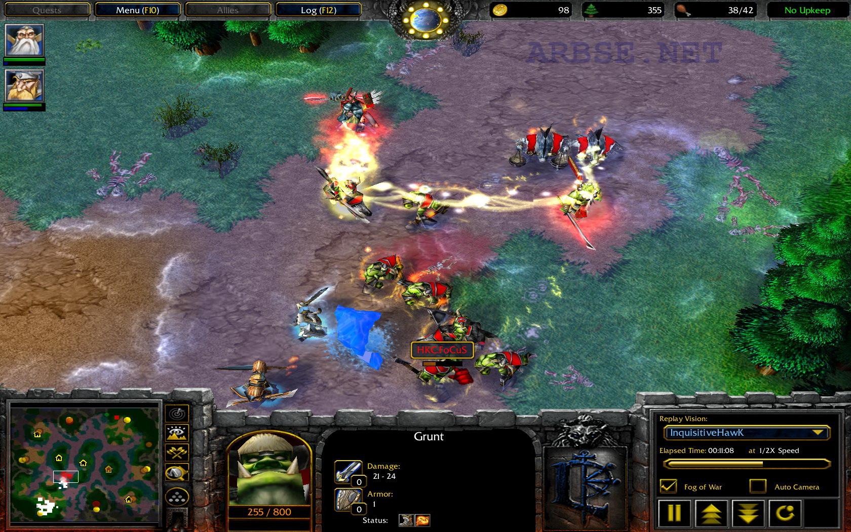 Warcraft 3 Возрождение Мира