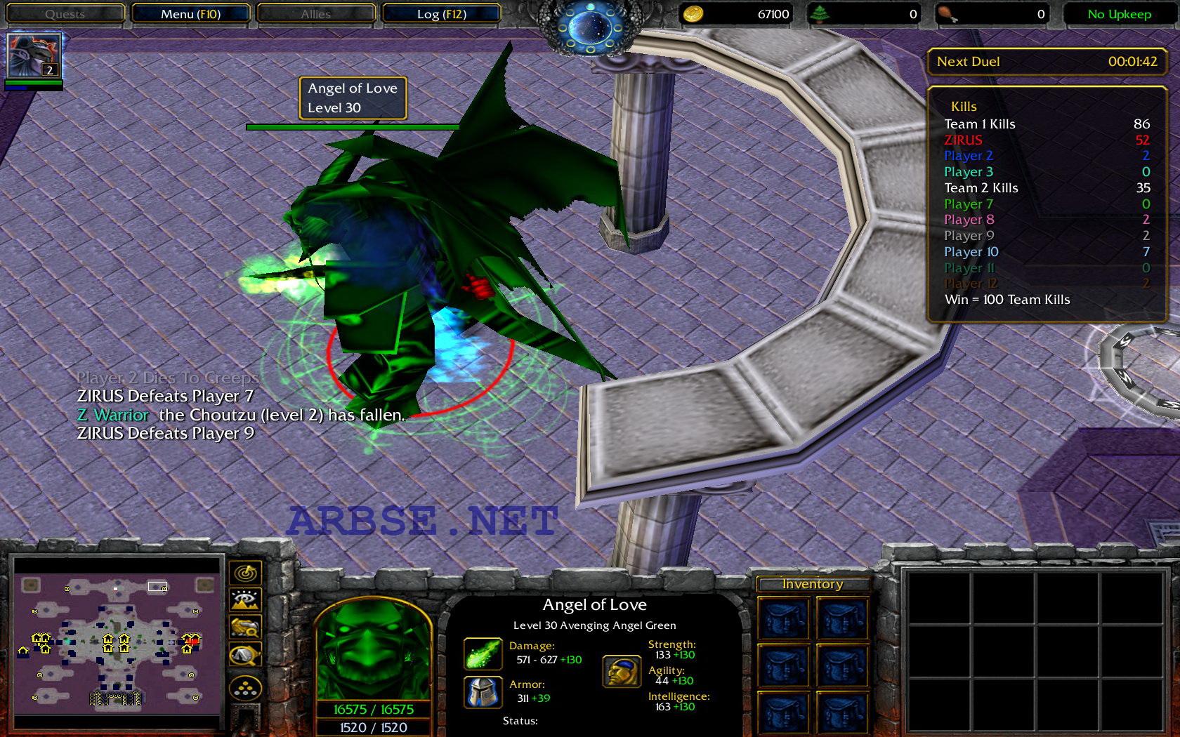 Играем в интересную карту warcraft iii, где люди развиваются, а божества им помогаютнужно больше варика! http