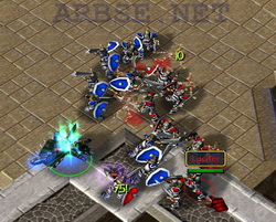 footman wars warcraft 3 карты