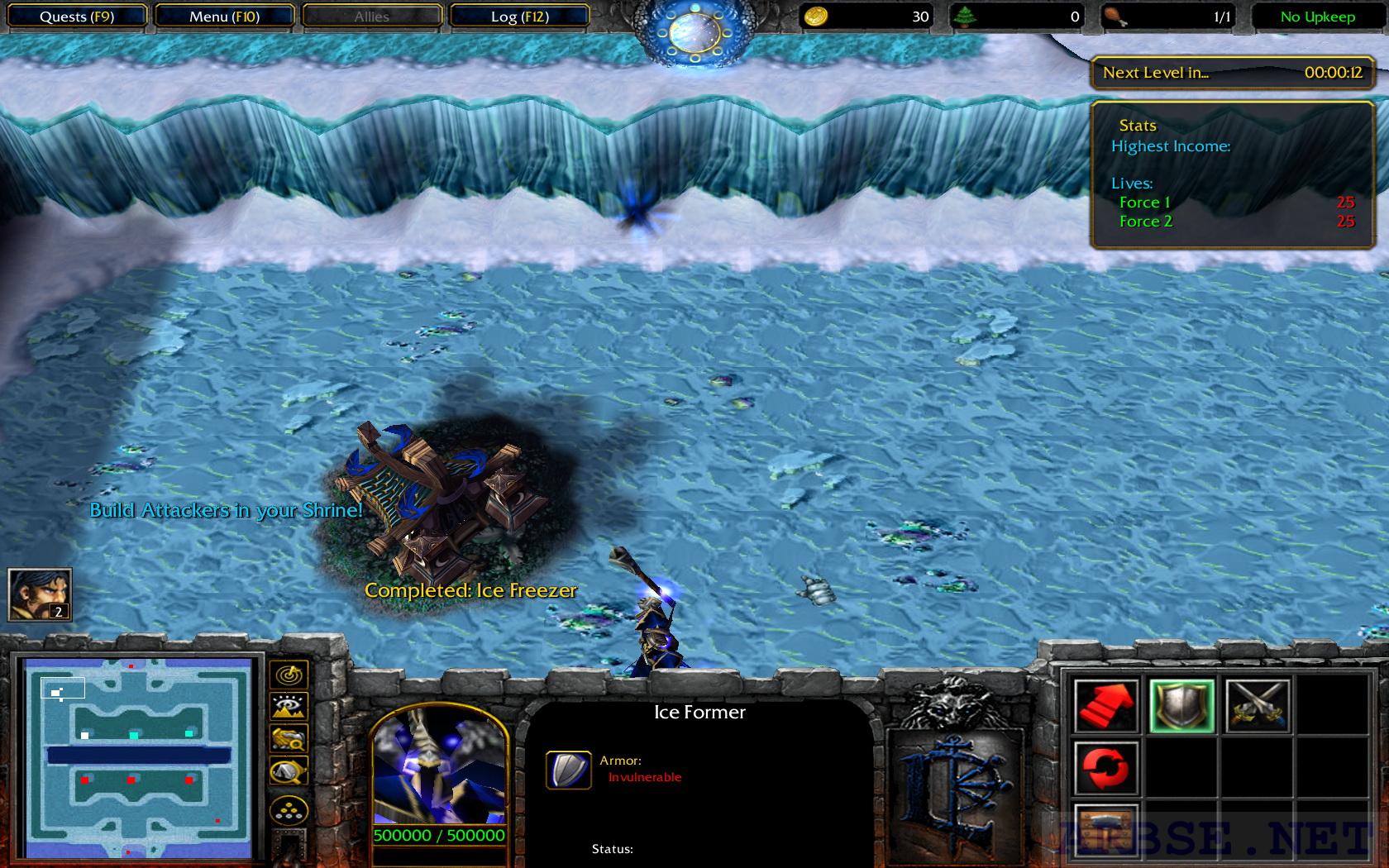Обзор интересной карты для warcraft 3 frozen trone