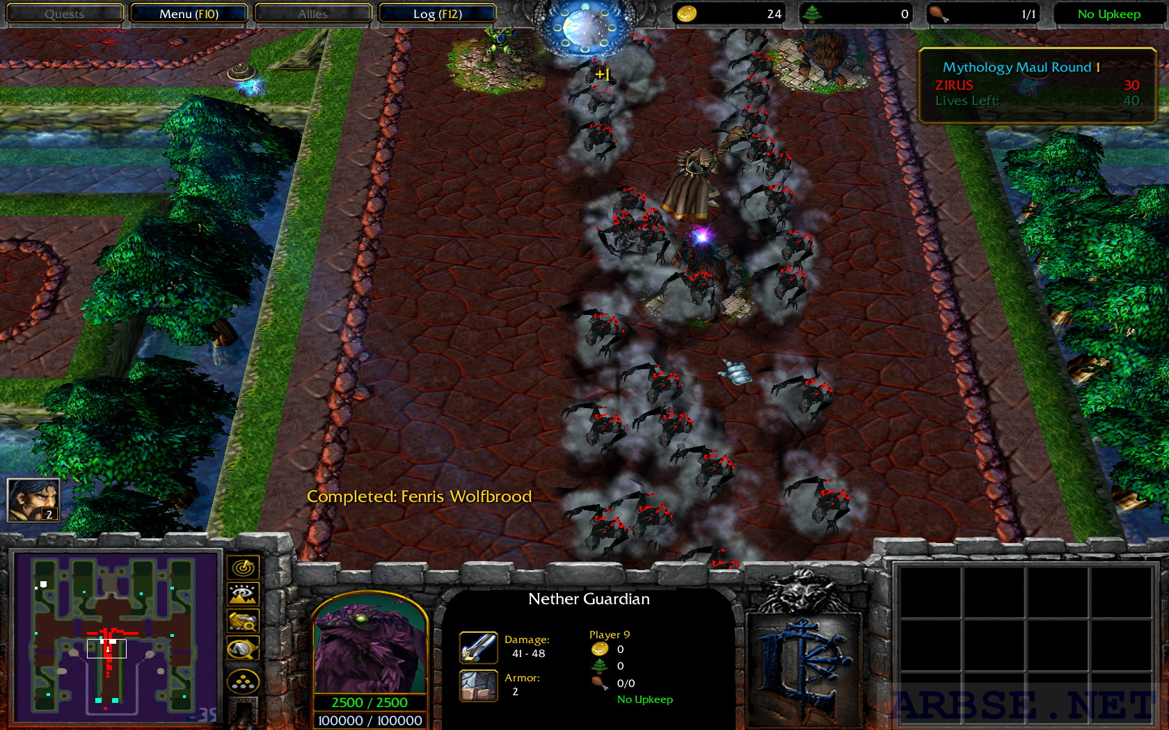 Warcraft 3 sex maul map exploited scenes