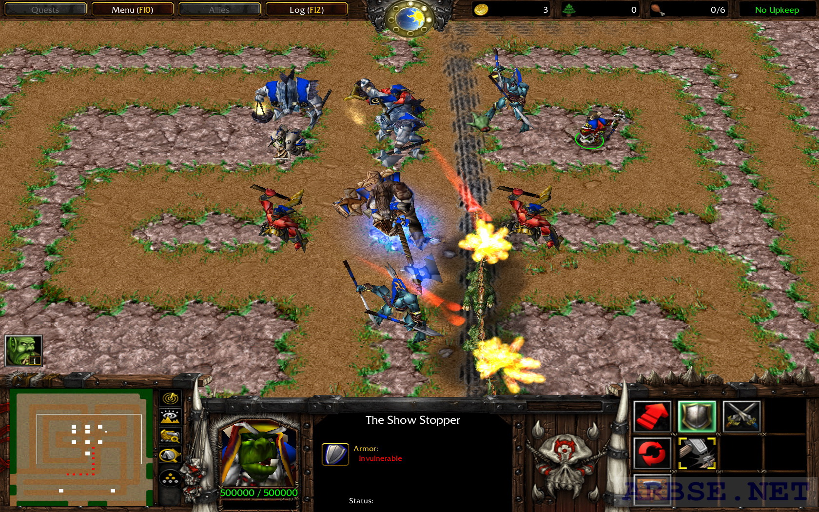 tower defence warcraft 3 maps download