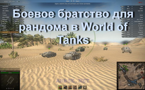������ �������� ��� ������� � World of Tanks