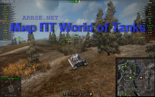 Мир ПТ World of Tanks