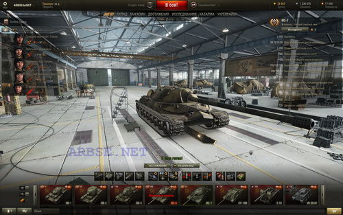 ARBSEdotNET (10К боёв, 13,5К затрат) World of Tanks